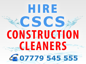 Construction Cleaning Specialists in London UK